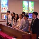 가족예배 세례식